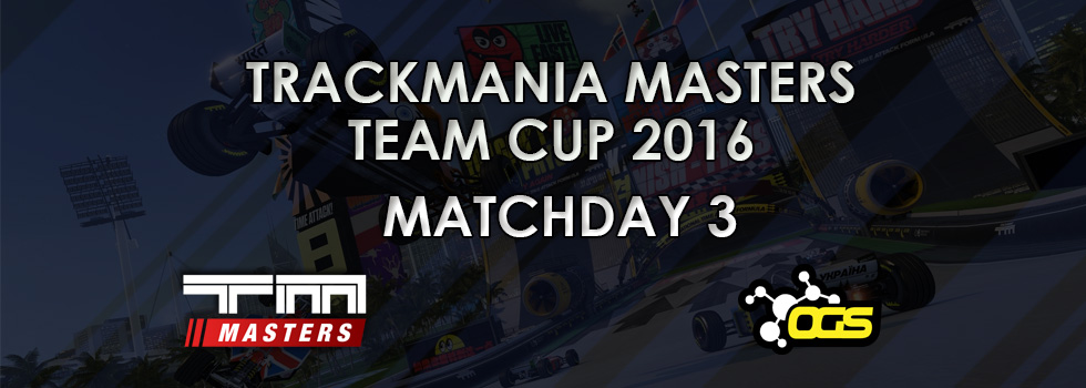 Team Cup 2016 – Matchday #3