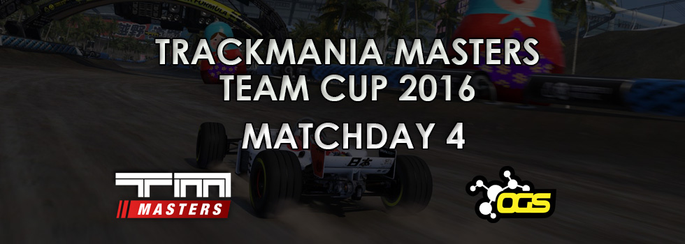 Team Cup 2016 – Matchday #4